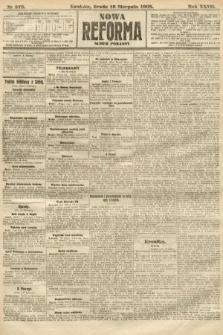 Nowa Reforma (numer poranny). 1908, nr378