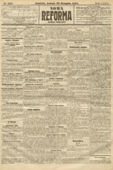 Nowa Reforma (numer poranny). 1908, nr384