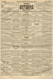 Nowa Reforma (numer poranny). 1908, nr396