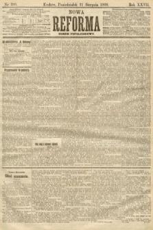 Nowa Reforma (numer popołudniowy). 1908, nr399