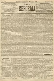 Nowa Reforma (numer popołudniowy). 1908, nr405
