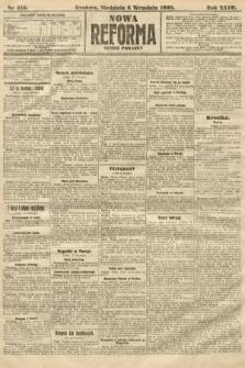 Nowa Reforma (numer poranny). 1908, nr410