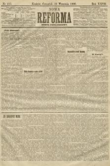 Nowa Reforma (numer popołudniowy). 1908, nr415