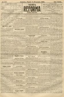 Nowa Reforma (numer poranny). 1908, nr416