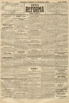 Nowa Reforma (numer poranny). 1908, nr420