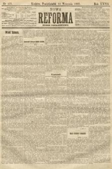 Nowa Reforma (numer popołudniowy). 1908, nr421