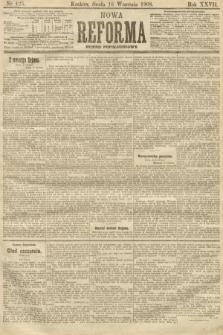 Nowa Reforma (numer popołudniowy). 1908, nr425