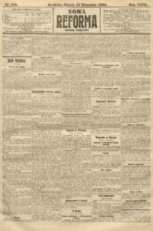 Nowa Reforma (numer poranny). 1908, nr428