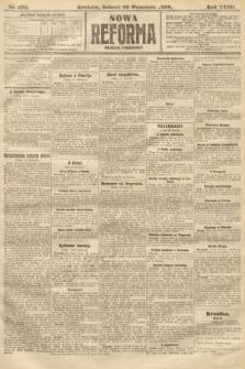 Nowa Reforma (numer poranny). 1908, nr430