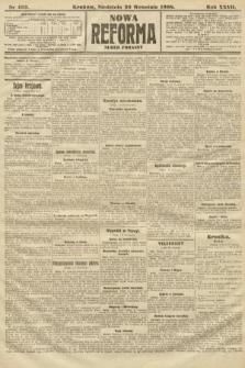 Nowa Reforma (numer poranny). 1908, nr432