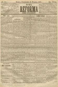 Nowa Reforma (numer popołudniowy). 1908, nr433
