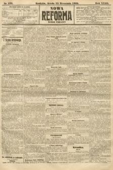 Nowa Reforma (numer poranny). 1908, nr436