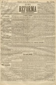 Nowa Reforma (numer popołudniowy). 1908, nr437