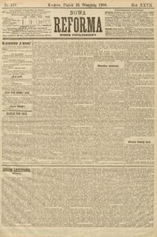 Nowa Reforma (numer popołudniowy). 1908, nr441