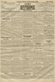 Nowa Reforma (numer poranny). 1908, nr442