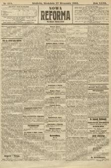Nowa Reforma (numer poranny). 1908, nr444