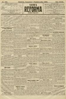 Nowa Reforma (numer poranny). 1908, nr450