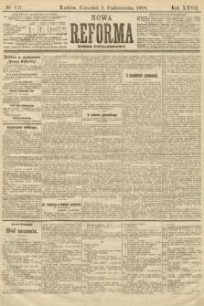 Nowa Reforma (numer popołudniowy). 1908, nr451
