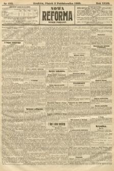 Nowa Reforma (numer poranny). 1908, nr452