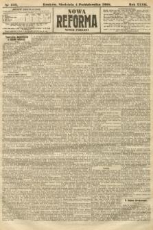 Nowa Reforma (numer poranny). 1908, nr456