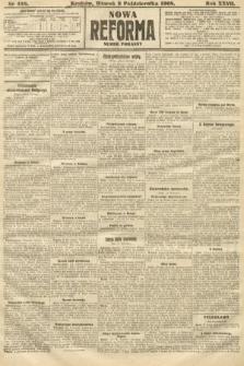 Nowa Reforma (numer poranny). 1908, nr458