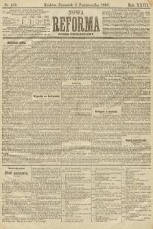 Nowa Reforma (numer popołudniowy). 1908, nr463