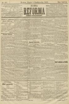 Nowa Reforma (numer popołudniowy). 1908, nr465