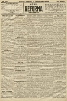 Nowa Reforma (numer poranny). 1908, nr468