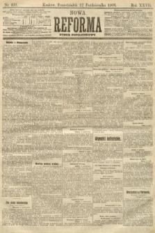 Nowa Reforma (numer popołudniowy). 1908, nr469