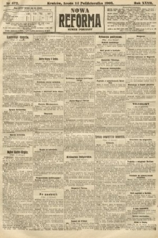 Nowa Reforma (numer poranny). 1908, nr472