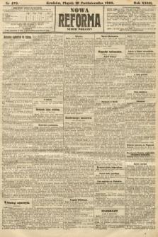 Nowa Reforma (numer poranny). 1908, nr476