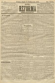 Nowa Reforma (numer popołudniowy). 1908, nr477