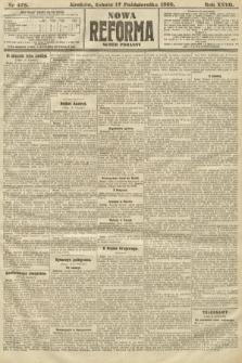Nowa Reforma (numer poranny). 1908, nr478