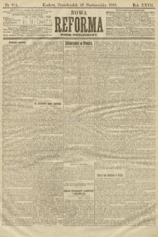 Nowa Reforma (numer popołudniowy). 1908, nr481
