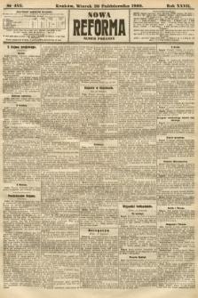 Nowa Reforma (numer poranny). 1908, nr482