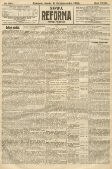 Nowa Reforma (numer poranny). 1908, nr484