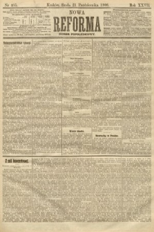 Nowa Reforma (numer popołudniowy). 1908, nr485