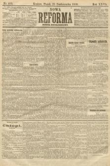 Nowa Reforma (numer popołudniowy). 1908, nr489