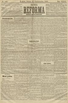 Nowa Reforma (numer popołudniowy). 1908, nr503