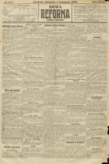 Nowa Reforma (numer poranny). 1908, nr504
