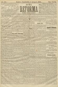 Nowa Reforma (numer popołudniowy). 1908, nr505