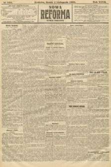 Nowa Reforma (numer poranny). 1908, nr508