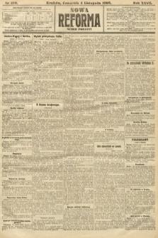 Nowa Reforma (numer poranny). 1908, nr510