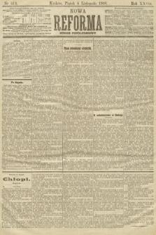 Nowa Reforma (numer popołudniowy). 1908, nr513