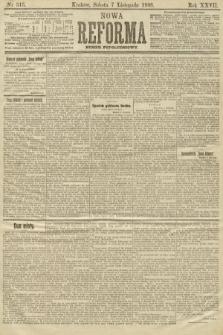 Nowa Reforma (numer popołudniowy). 1908, nr515