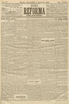 Nowa Reforma (numer popołudniowy). 1908, nr517