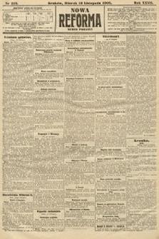 Nowa Reforma (numer poranny). 1908, nr518