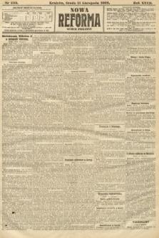 Nowa Reforma (numer poranny). 1908, nr520
