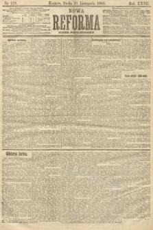 Nowa Reforma (numer popołudniowy). 1908, nr521