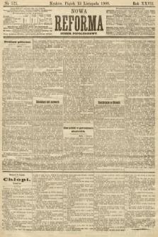 Nowa Reforma (numer popołudniowy). 1908, nr525